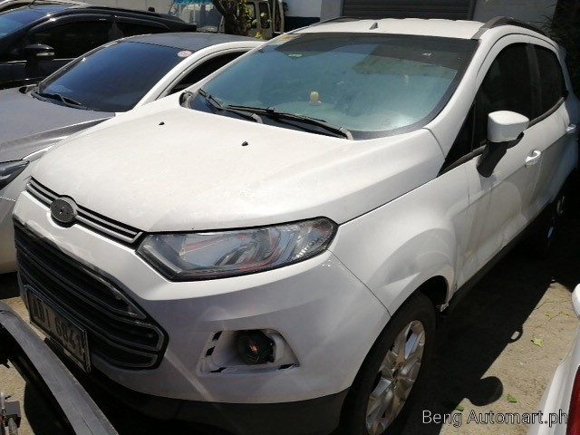 2015 Ford Ecosport Trend 1.5
